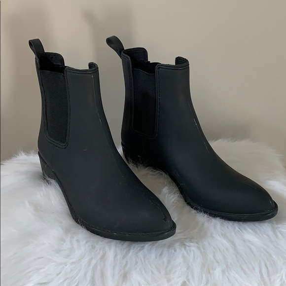 Jeffery Campbell Ankle Rain Boots